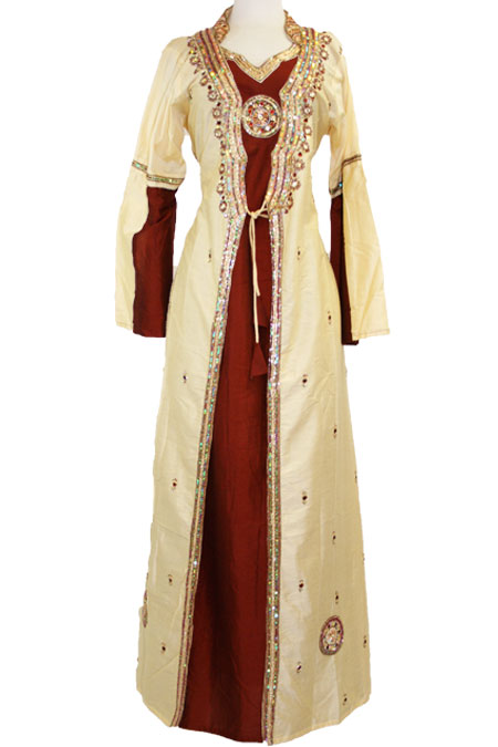 Indian Fancy Dress with Lots of Design Work (2-Piece)
