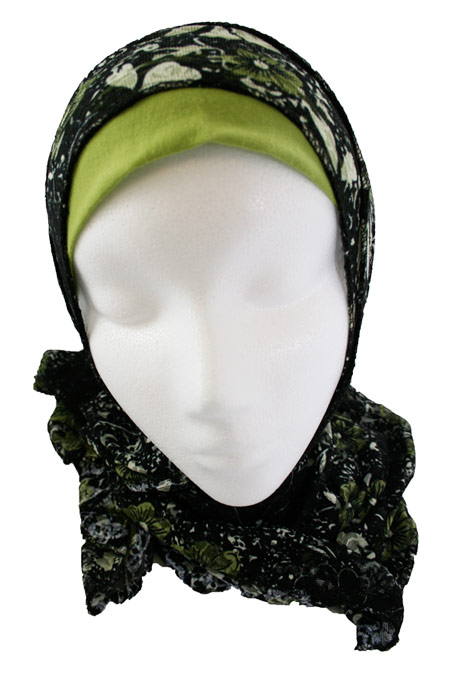 Womens Printed Long Hijab