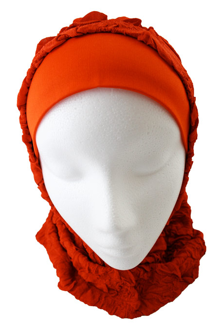 Womens 2-Piece Hijab 100% Polyester